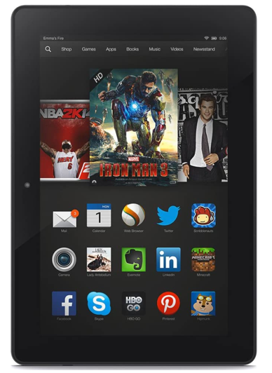 Kindle Fire HDX 8.9 (2013, 3rd Gen)