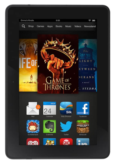 Kindle Fire HDX 7 (2013, 3rd Gen)