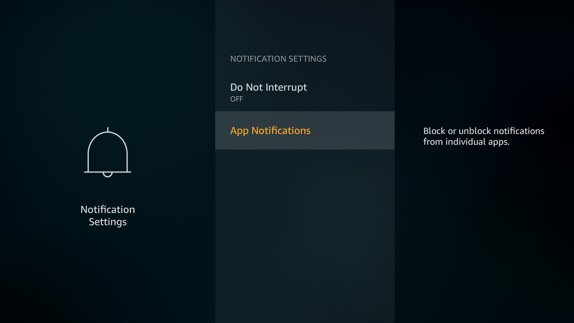 you will still see standard notifications in the notification center and see the bell icon on