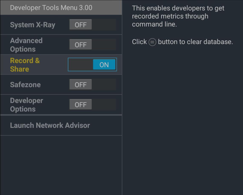 Developer Tool Options | Amazon Fire TV