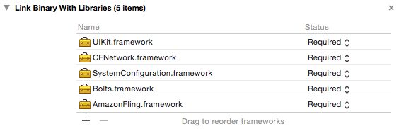 Setting Up your Amazon Fling Development Environment for iOS