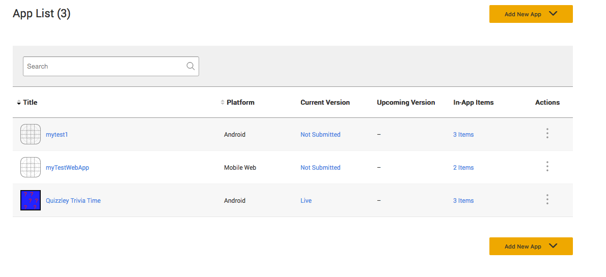 Create and Submit Single IAP items   In-App Purchasing