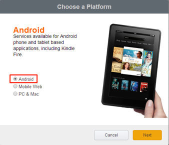 Select Android
