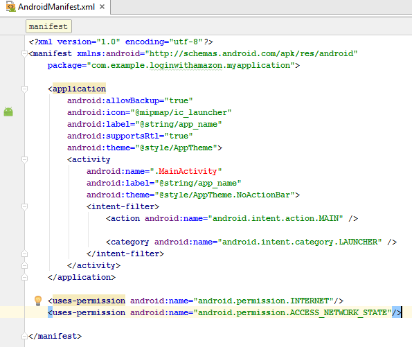 edited androidmanifest.xml