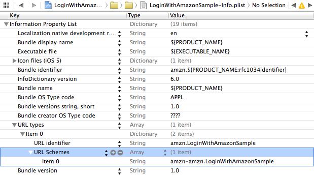 xcode url scheme