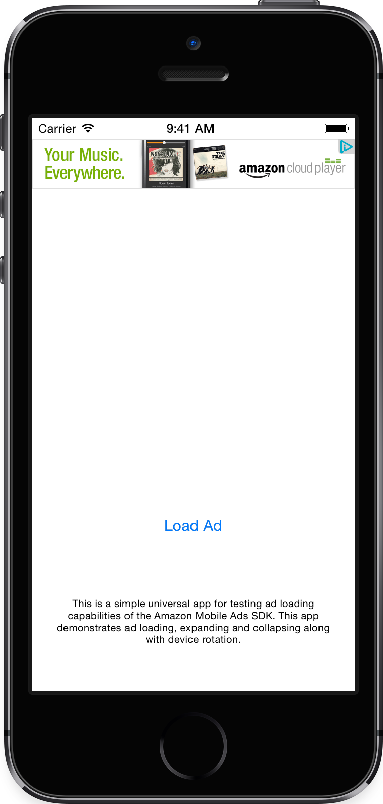 IOS sample apps | Mobile Ads