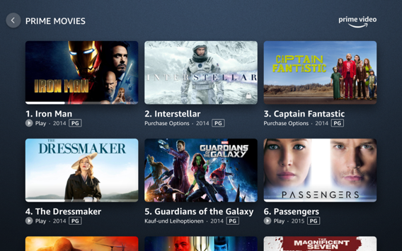 """Example: """"Interstellar"""" from this screen"""