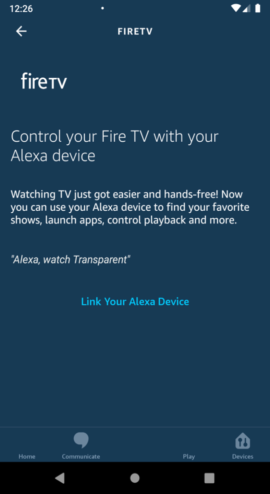 Link your Alexa device