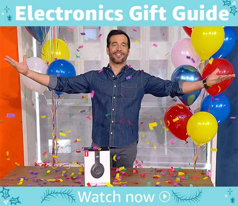 Amazon Live Presents: Electronics Gift Guide | Watch & shop our top picks from the Electronics Gift Guide
