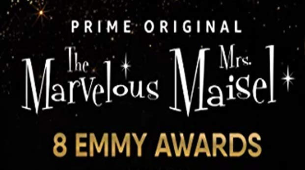 8 Emmy Awards for The Marvelous Mrs. Maisel