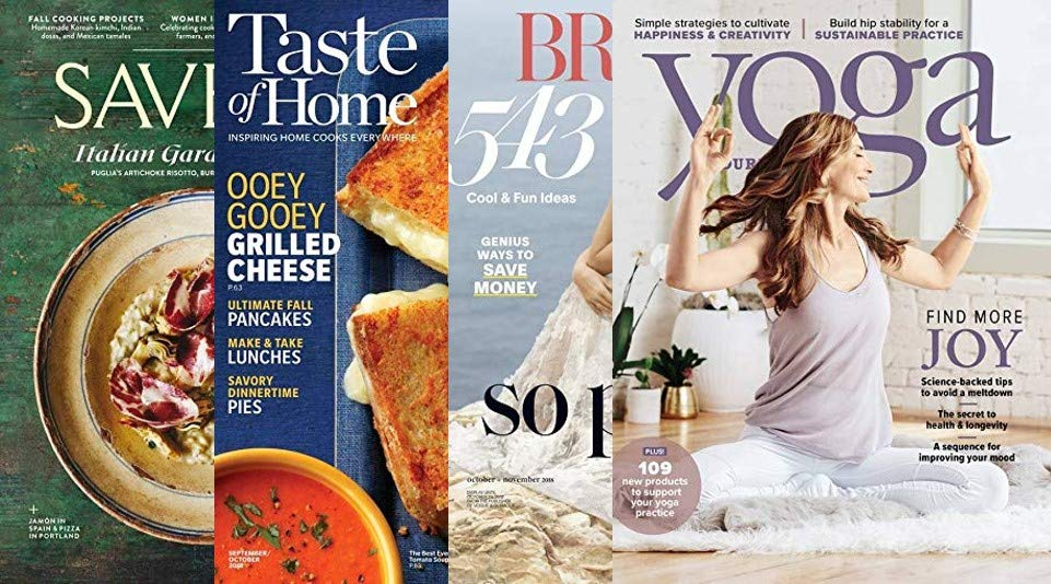 New digital mags in Prime Reading