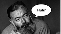 'Hemingway Didn't Say That' and 7 other surprising reference books