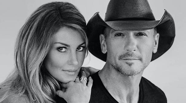 Tim McGraw and Faith Hill on touring and recording together