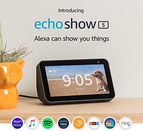 Introducing the all-new Echo Show 5
