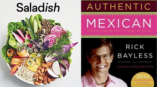 Popular cookbooks in Prime Reading