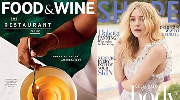 Trending magazines in Prime Reading