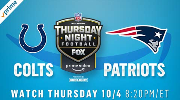 Prime tips for Colts vs. Patriots on Thursday Night Football
