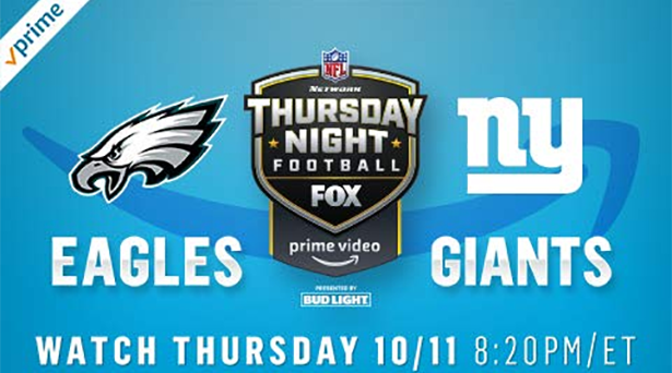 Prime tips for Eagles vs. Giants on Thursday Night Football