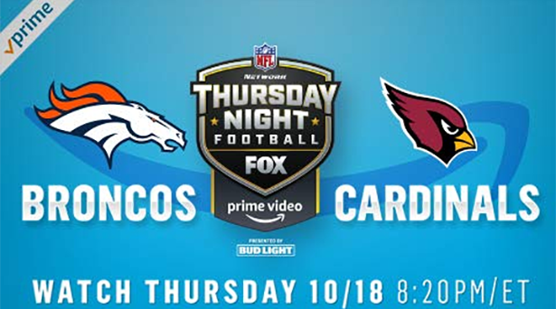 Prime tips for Broncos vs. Cardinals on Thursday Night Football
