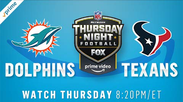 Prime tips for Dolphins vs. Texans on Thursday Night Football