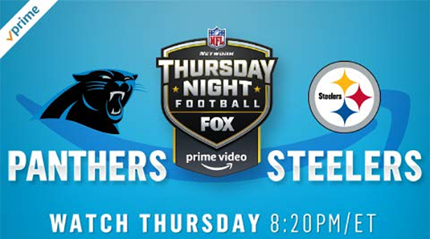 Prime tips for Panthers vs. Steelers on Thursday Night Football