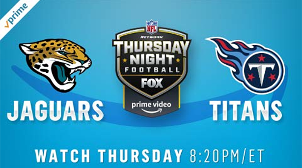 Prime tips for Jaguars vs. Titans on Thursday Night Football