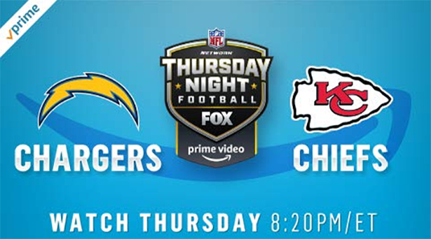 Prime tips for Chargers vs. Chiefs on Thursday Night Football