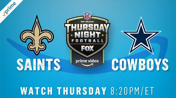 Prime tips for Saints vs. Cowboys on Thursday Night Football