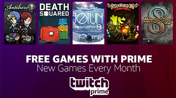 5 free games for Prime members in September