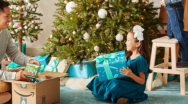 Holiday shopping guides on Amazon Home