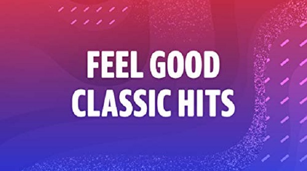 Feel good playlists on Amazon Music