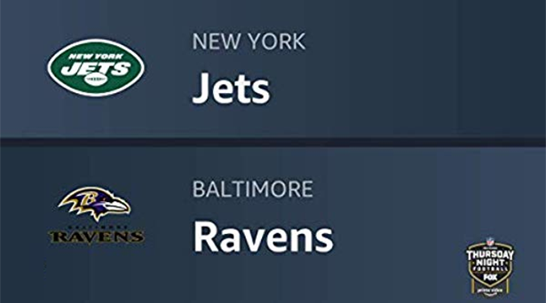 Prime tips for Jets vs. Ravens on Thursday Night Football