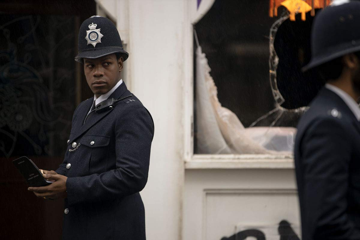 Leroy Logan joins the police force