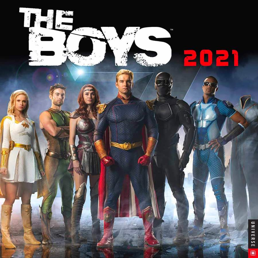 The Boys 2021 Wall Calendar