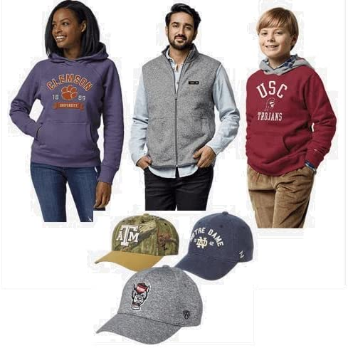 Up to 30% off select NCAA fan gear for the family