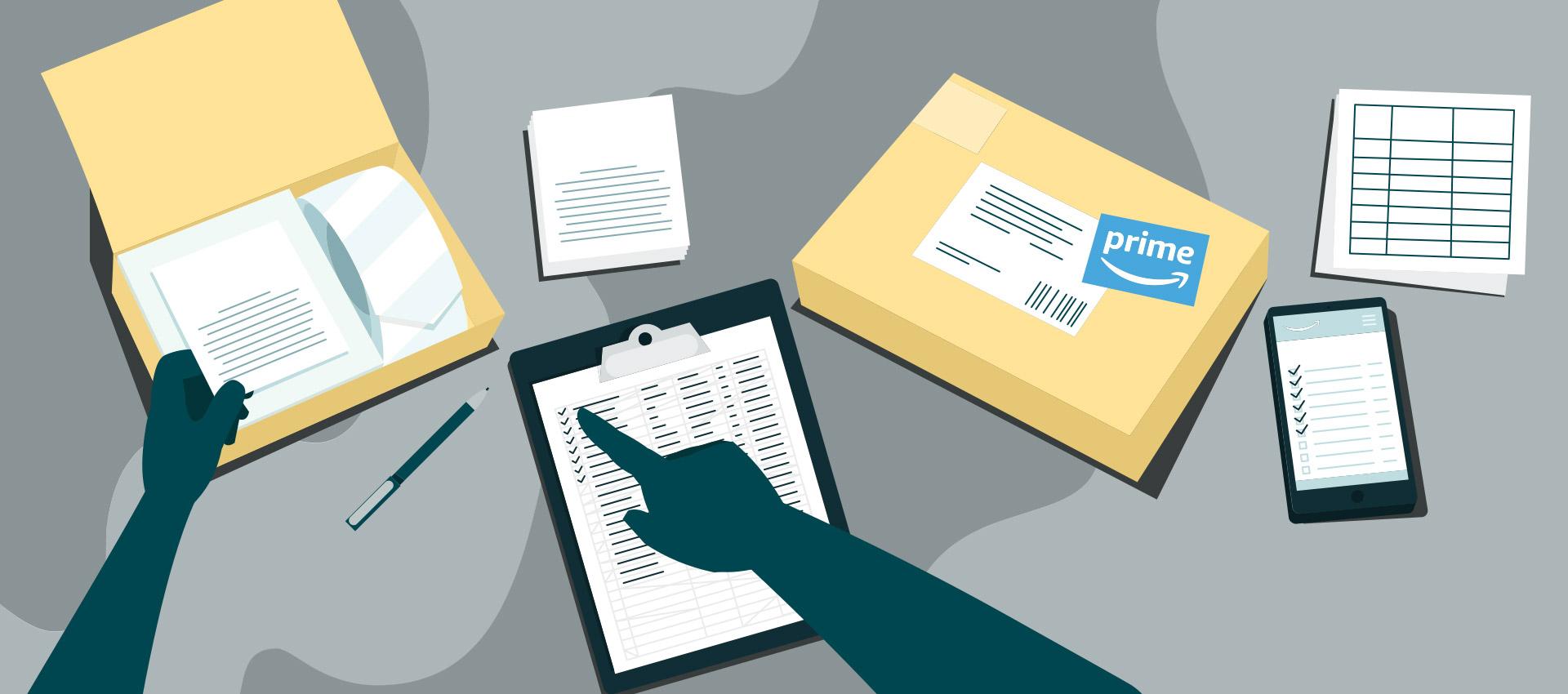 考虑如何利用最恰当的方式配送买家订单的人