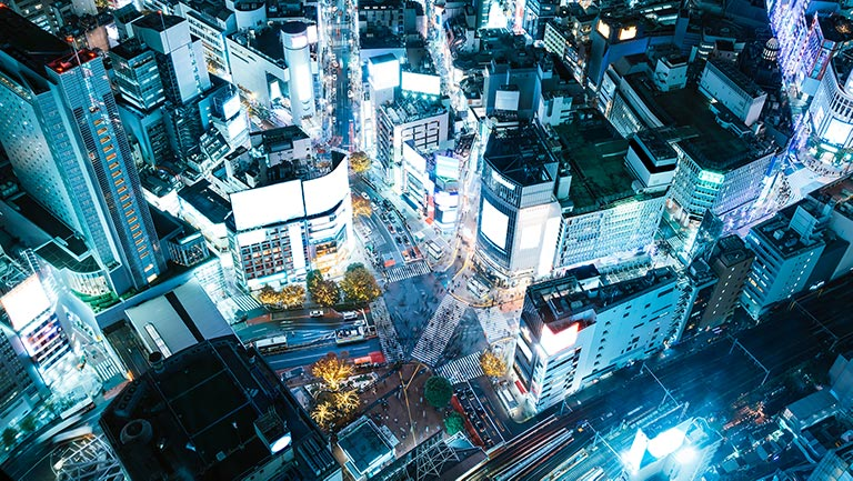 Expand to Japan with Amazon UK - Japan city view