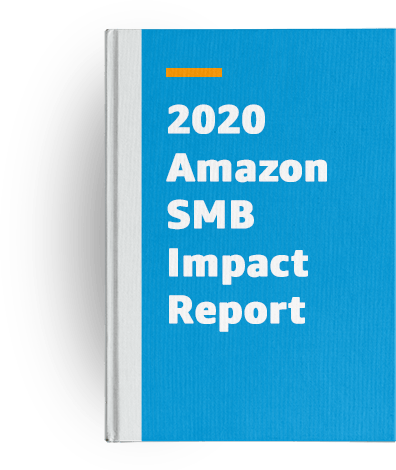 Book cover for 2020 Amazon SMB Impact Report