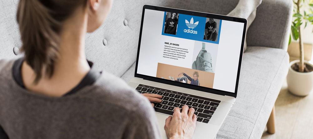 Computerbildschirm mit Produkten auf einer Amazon-Detailseite mit A+Content