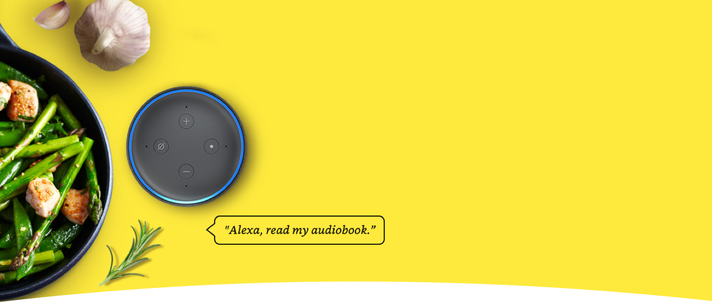 Alexa read my audiobook