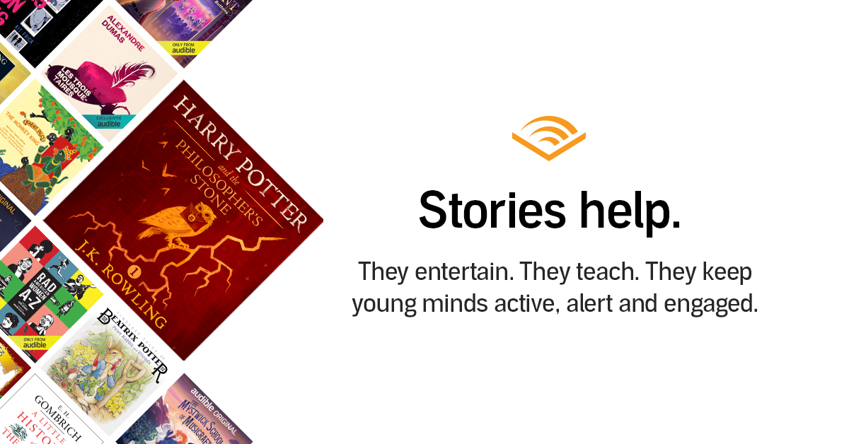 Audible Stories: Free Audiobooks for Kids | Audible.com