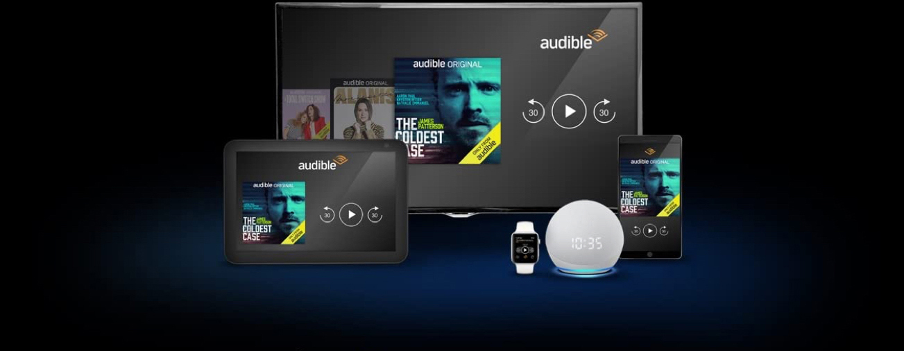 for desktop, tablet, mobile, wearables, and Alexa devices