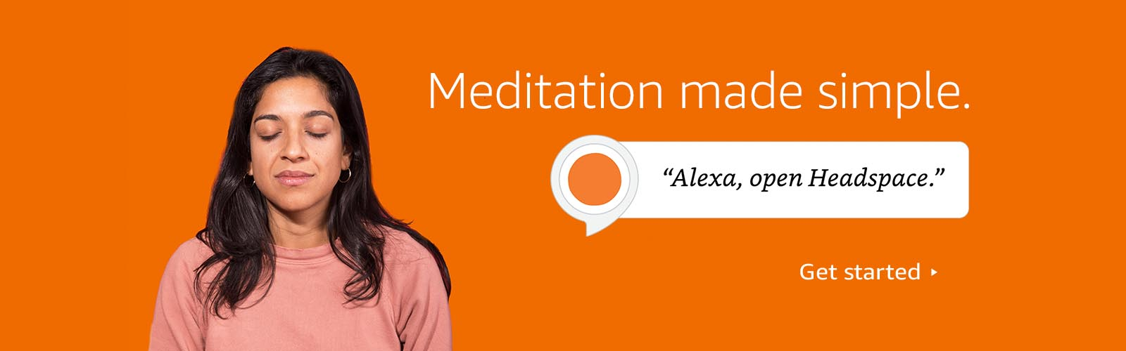 Alexa, open Headspace