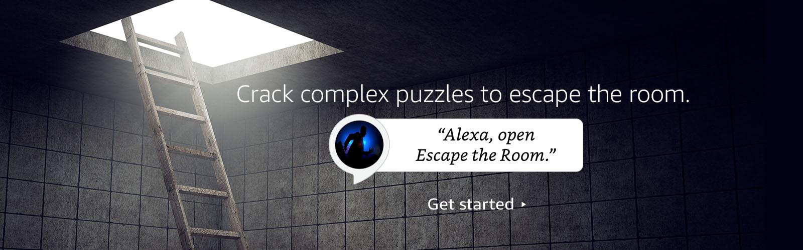 Alexa, open  Escape the room