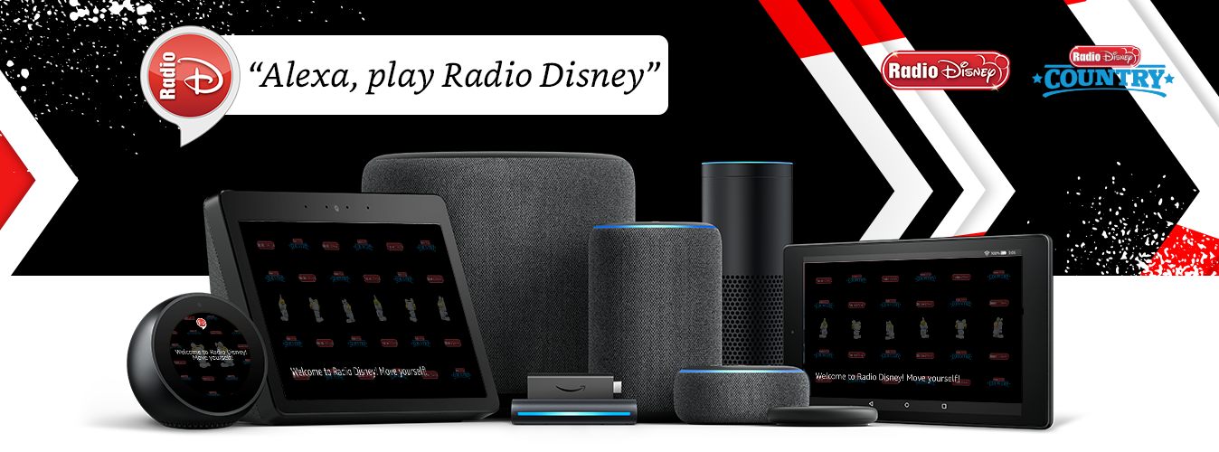 """Alexa, open Radio Disney."""