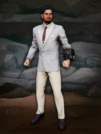 Clean Striped Suit