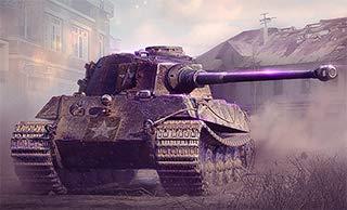 Captured King Tiger Tank
