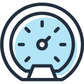 Icon of a timer