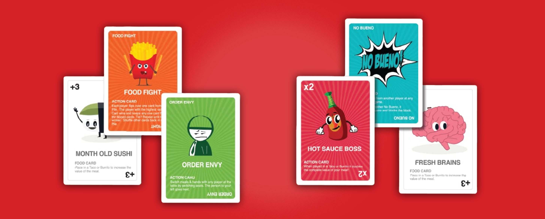 Hot Taco card game