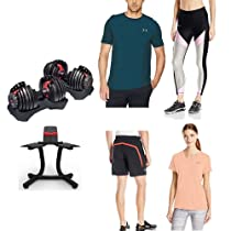 Be a workout warrior with Bowflex and Under Armour